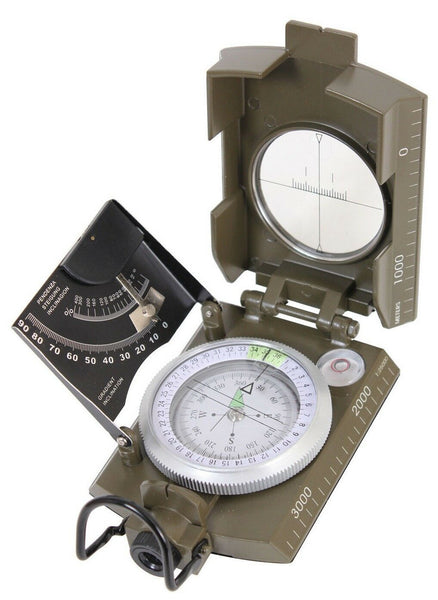 olive drab marching compass military deluxe version rothco 14060