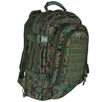 camo backpack woodland digital camo tactical duty pack fox outdoor 56-563
