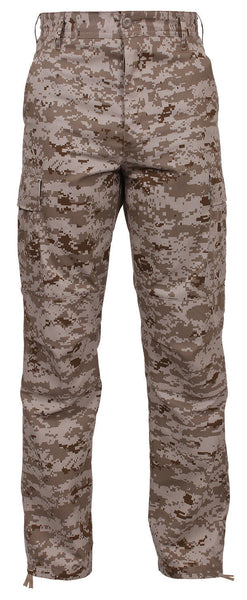 Kids Military Pants BDU Cargo Pant Trousers Desert Digital Camouflage 66125