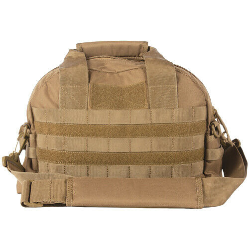 Coyote Tactical Field Range Bag Pack 2 Compartment Carry Handles Shoulder Strap