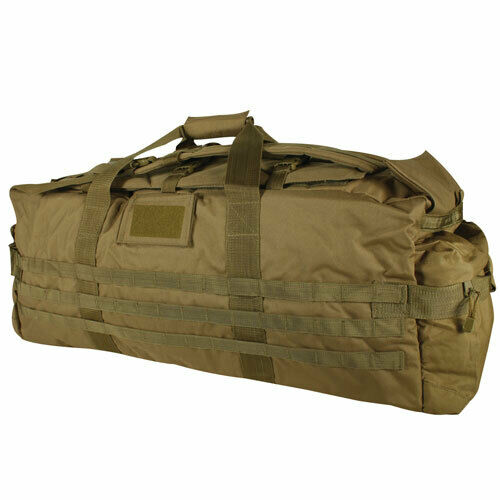Coyote Military Duffle Jumbo Patrol Bag Backpack Shoulder Travel Bag Fox 54-698