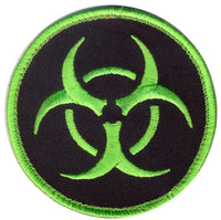military tactical bio hazard patch airsoft paintball zombie rothco 73192
