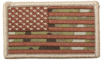 Multicam Camo USA Flag Patch with hook backing rothco 17771