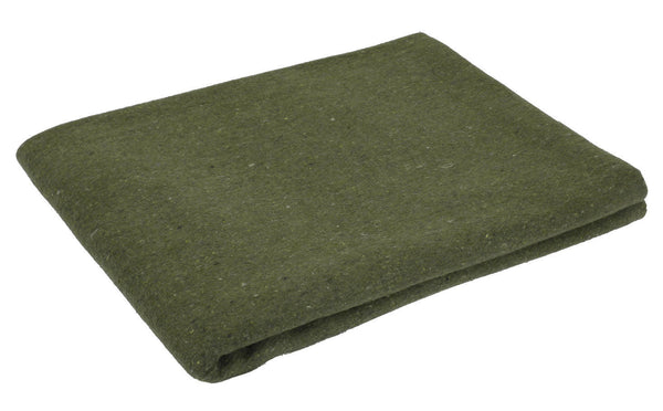 "wool blanket military rescue style olive drab 60"" X 80"" Rothco 10430"