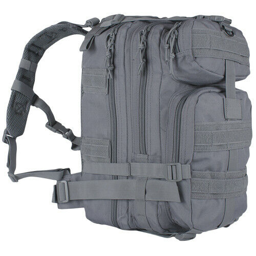 Military Style Backpack Medium Transport Pack Grey Tactical Gray Fox 56-4209