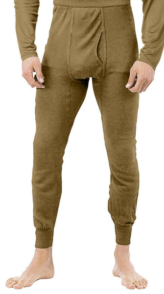 US Army ECWCS Underwear Pants Bottoms Coyote Brown AR-670-1 Rothco 3745