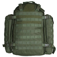 olive drab green backpack military style modular field pack fox outdoor 56-570