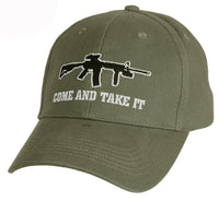 OD Come And Take It Military Baseball Cap Olive Drab Ballcap Hat Rothco 9809