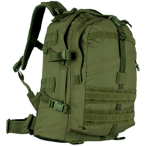 OD Olive Large Transport Pack Backpack Tactical Travel Bag Fox Outdoor 56-430