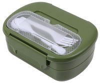 Olive Drab Compact Plastic 5 Piece Mess Kit Military Style Rothco 5908