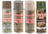 Camouflage 12 Oz. Aerosol Can Spray Paint Can Rothco 8343