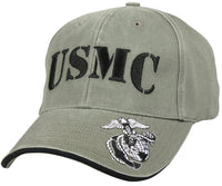 Military USMC US Marine Corps Ballcap Cap Hat Vintage Style Rothco 9738