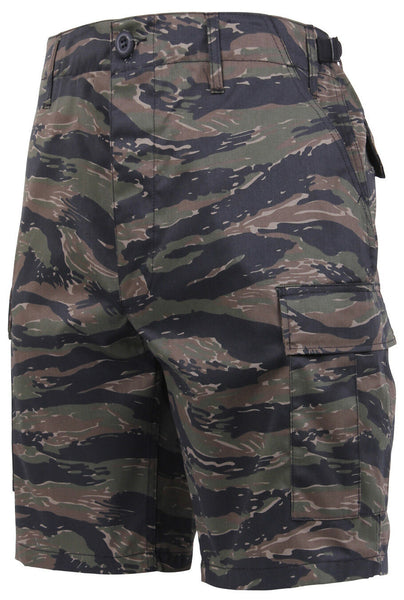 shorts camo tiger stripe bdu military style various sizes rothco 7085
