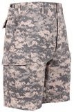 shorts camo army acu digital military bdu style camouflage mens rothco 65312
