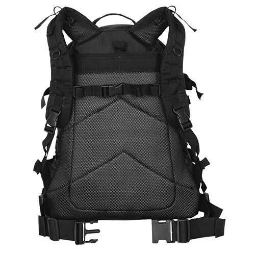 Black Large Transport Pack Backpack Tactical Multicam Camo Fox Outdoor 56-431