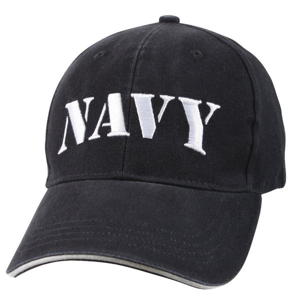 Military USN US Navy Ballcap Cap Hat Vintage Style Rothco 9881