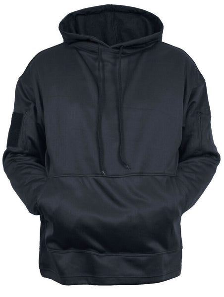 tactical ccw hoodie hooded sweatshirt dark blue concealed carry rothco 4091