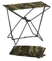 Woodland Camo Lightweight Portable Chair Folding Camp Stool Camping Rothco 4575