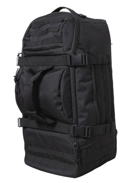 tactical mission bag pack backpack 3 in 1 convertible black rothco 23500