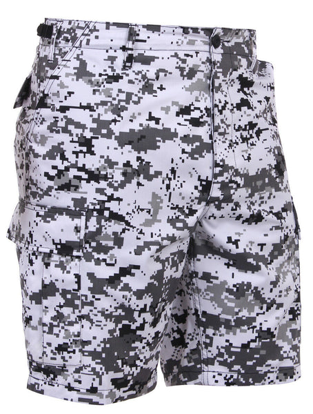 shorts camo city digital cargo bdu military style camouflage mens rothco 67213