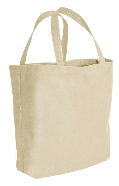 Canvas Cotton Shopping Tote Bag Bags Natural White Rothco 2493