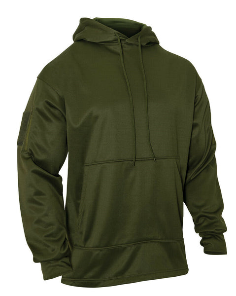 tactical ccw hoodie hooded sweatshirt olive drab concealed carry rothco 2471