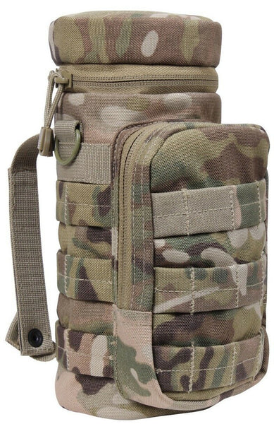 molle pouch water bottle tactical multicam camo rothco 2879