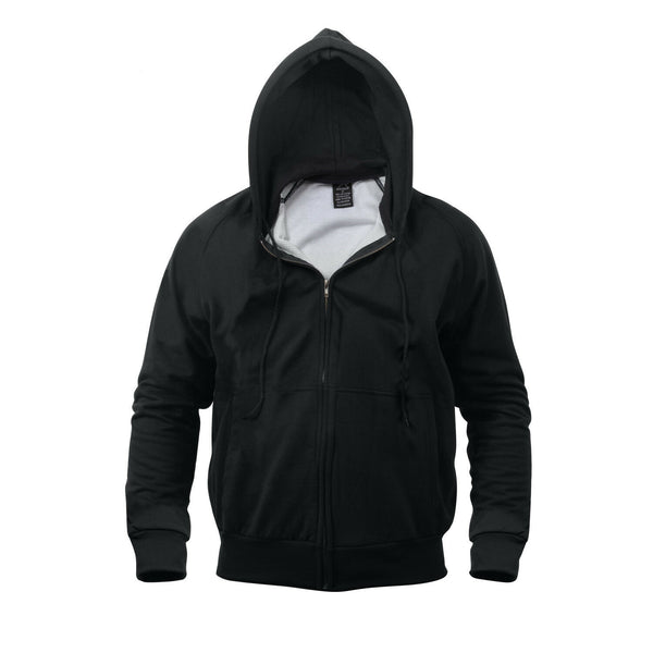 sweatshirt hooded thermal lined hoodie heavyweight rothco 6260