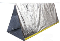 survival tent reflective material 2 person emergency shelter rothco 3878