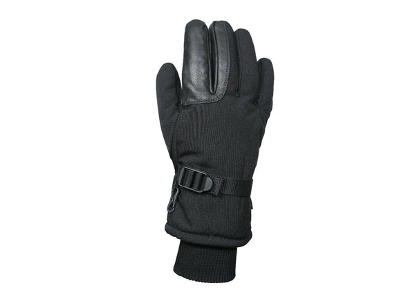 black military style winter gloves tactical cold weather rothco 3559