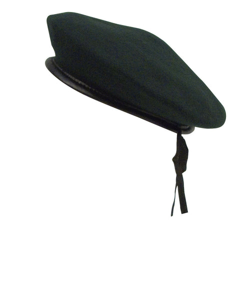 BERET MONTY WOOL MILITARY GREEN HAT ROTHCO 45993