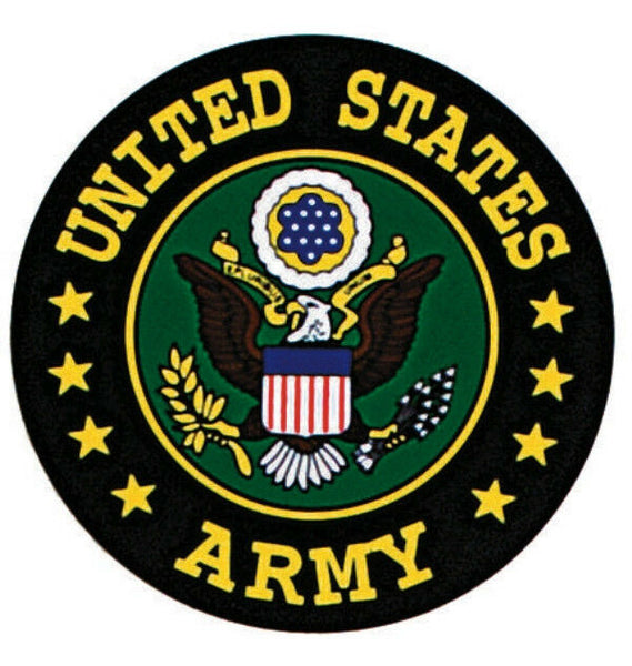 US ARMY SEAL LOGO AUTO DECAL OUTSIDE WINDOW STICKER ROTHCO 1226