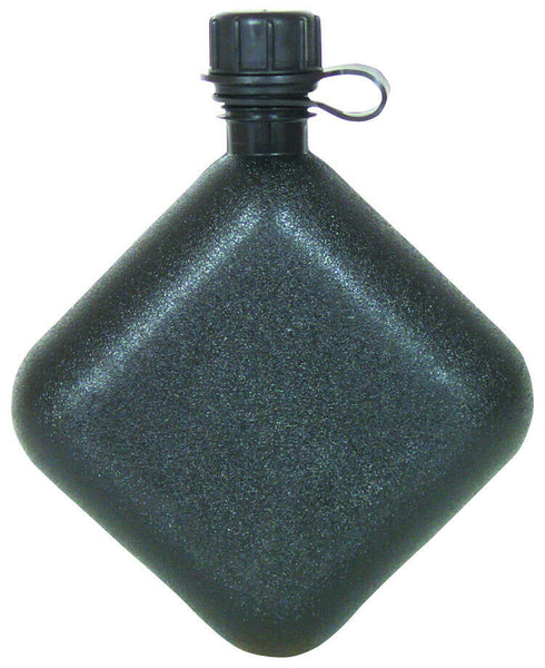 plastic canteen bladder 2 qt black collapsible made in the usa fox 35-11