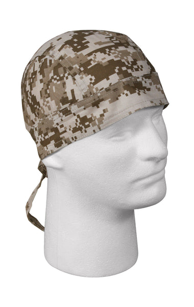 head wrap desert digital camo rothco 5201