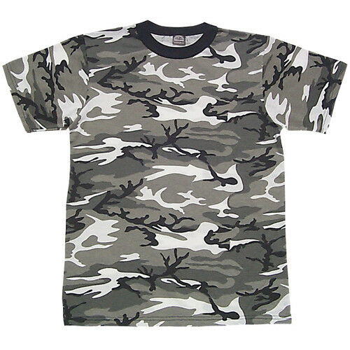 t-shirt kids youth urban camo fox outdoor 64-29 US made