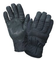 Gloves Cold Weather Glove Wind Proof Nylon With Leather Palms Rothco 4494