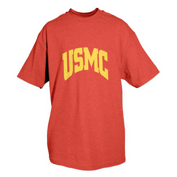 t-shirt usmc marines red various sizes fox outdoor 63-915