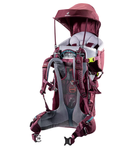 Rent this kid carrier from Packlist, and have it delivered and picked up.