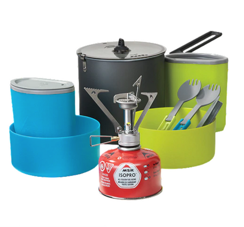 Rent this MSR cookset from Packlist, and have it delivered and picked up.