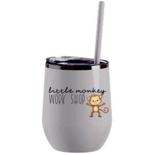 Custom 12oz Wine Tumbler Stainless Steel