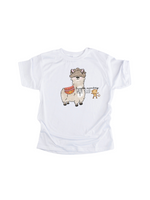 Load image into Gallery viewer, Llama Adult sized tshirt/hoodie/crew neck