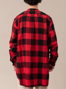 Seaview Long Shirts(Buffalo Check)