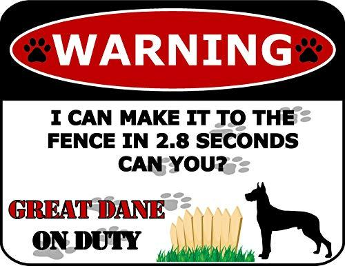 Warning Bad Ass Doberman On Premises Keep Out Dog Sign SP1213