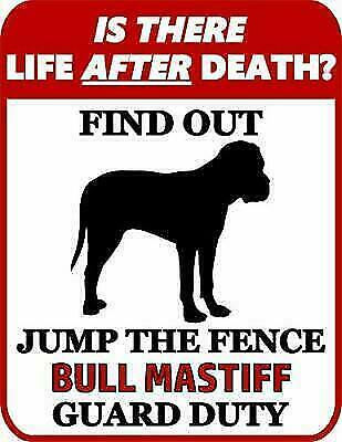 Jump The Fence Yorkipoo Guard Duty Dog Sign SP986 is There Death