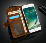 Luxury Leather iPhone Wallet Case