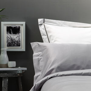 Silver Grey Bedding Set by Beaumont & Brown
