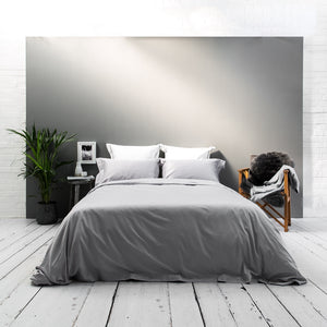 Silver Grey Luxury Bed Linen - Beaumont & Brown