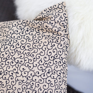 Budonoki Cream Cushion Covers from Beaumont & Brown