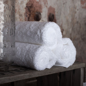 Pure White 650gsm Towels