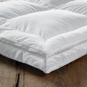 Luxury Feather and Down Mattress Topper by Beaumont & Brown